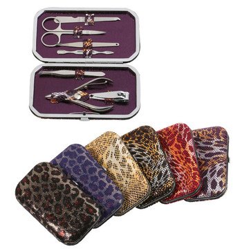 PU Bag Stainless Steel Manicure Set