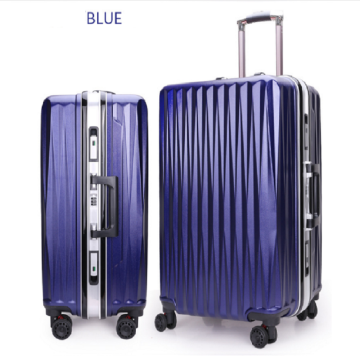 Wholesale Pull Rod Trolley Aluminium Alloy Luggage