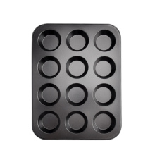 Factory Non Stick 12 cups Round Muffin Pan