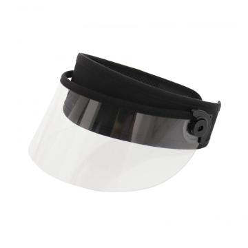 Clear children face shield transparent sun visor hat