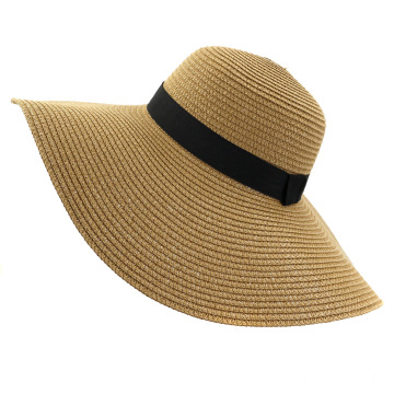 Scarves custom foldable blank straw hat