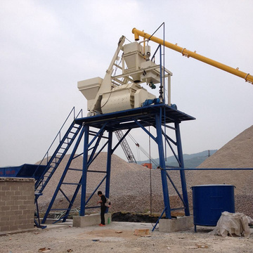 Popular construction machinery concrete batching plant