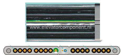 Elevator Traveling Cable Shieled Pairs