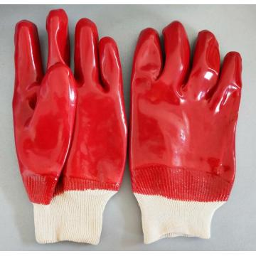 Smooth PVC knit wrist Gloves
