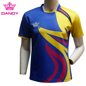 Breathable Training Custom Rugby Shirt