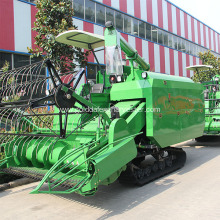 330mm Min.ground clearance combine harvesting rice machinery