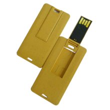 Tarjeta de crédito mini Biodegradable personalizada USB Flash Drives