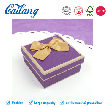 Ribbon Knot  On lid For Candy Packaging