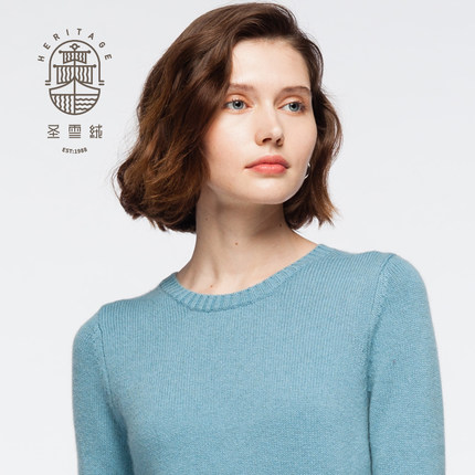 Women's Cashmere Crew Neck Sweater