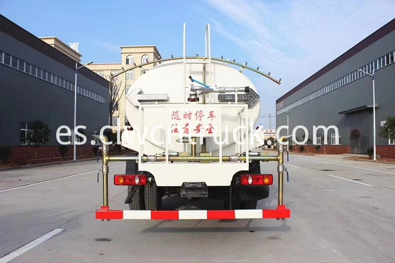 potable water tank truck factory
