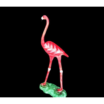 Outdoor Flamingo B lights
