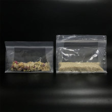 Eco Friendly 100% PE smelly proof recyclable bags with ziplock for powder package
