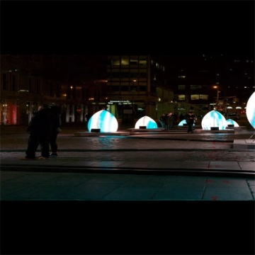​Outdoor Interactive UFO Modeling Lights