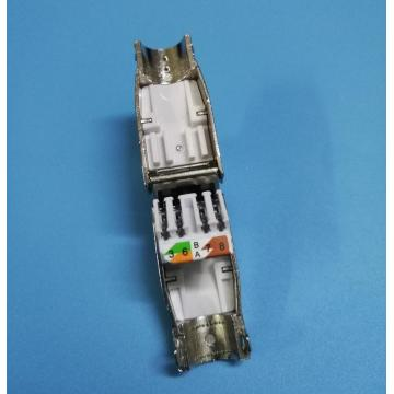 RJ45 CAT6A STP plug toolless rj45 Cat6A connector