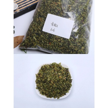 Dehydrated green sweet bell pepper export price