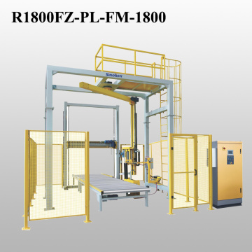 Rotary Arm and Top Dispenser Packaging On-line