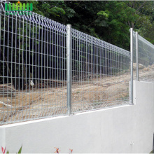Galvanized Welded BRC Rolled Top Wire Mesh Fence