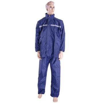 Police Rain Suit of nylon black raincoa