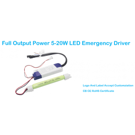 Rechargeble LED Emergency Power Supply With Battery