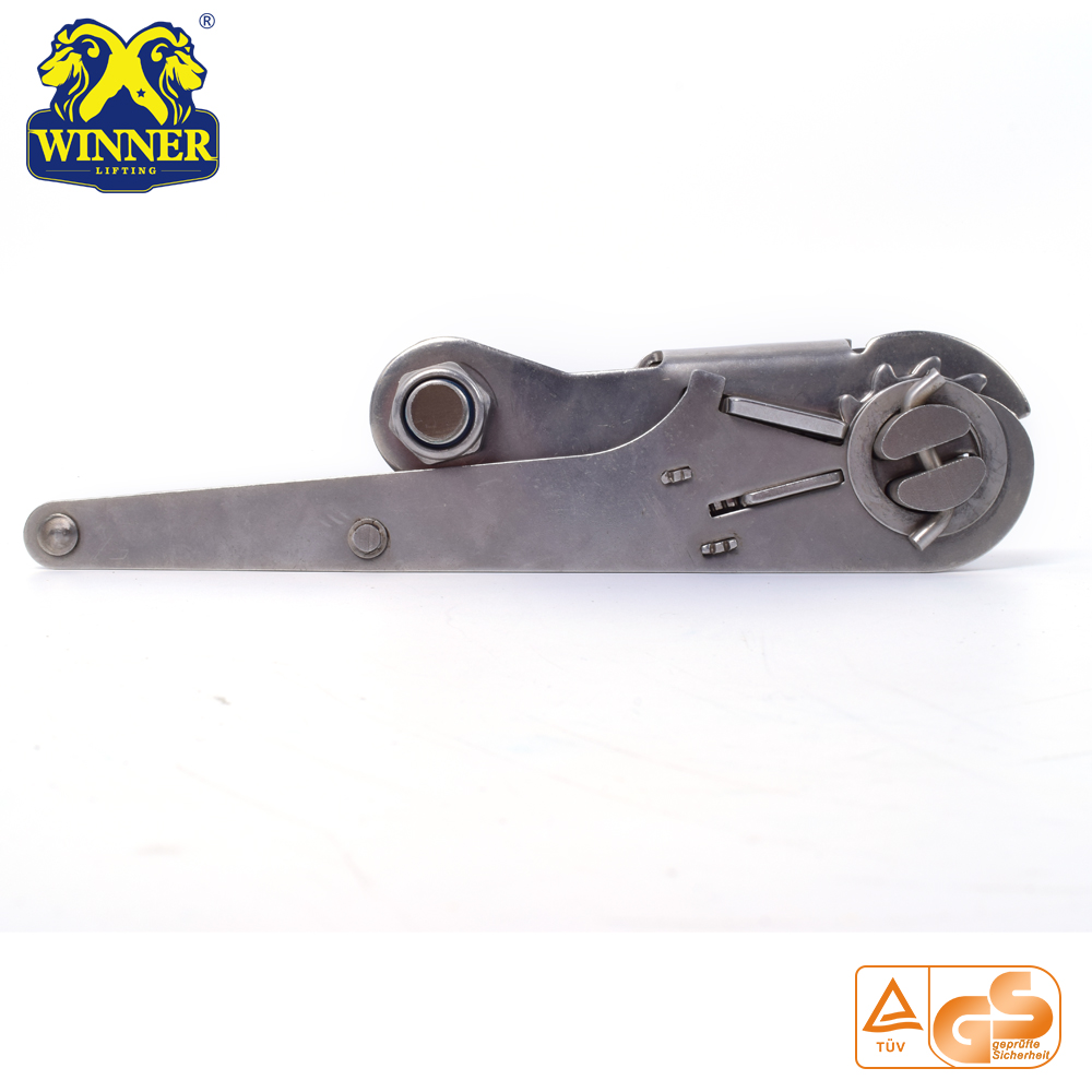 "3"" Long Handle Steel Ratchet Buckle"