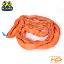 10Ton Lifting Lashing Polyester Soft Endless Round Sling Belt