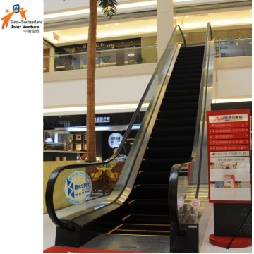 Commercial Escalator 1000mm Step Width VVVF Control