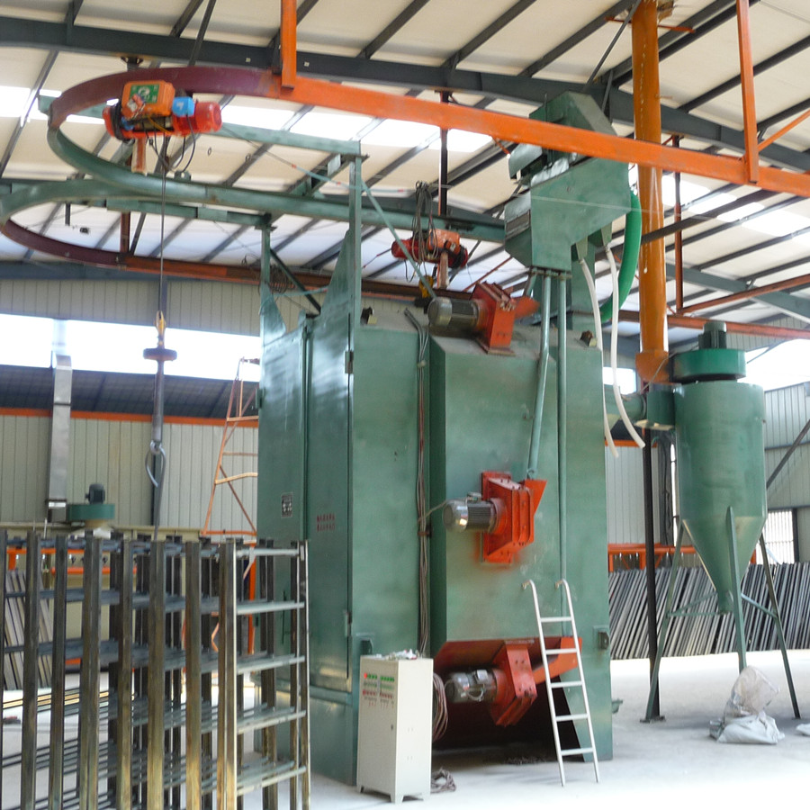 Hanger Hook Sand Blasting Machine
