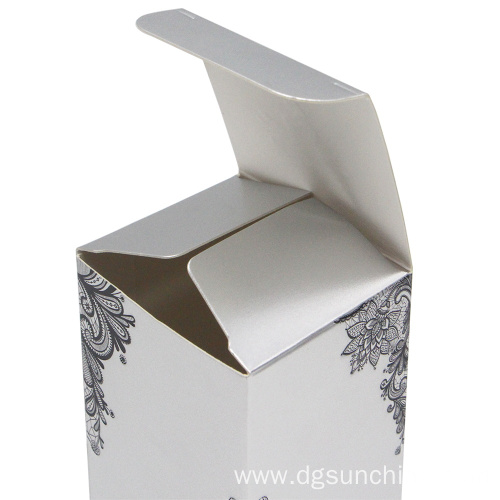 Custom perfume skincare cosmetic packaging box cardboard