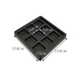 Custom 9 Compartment Square Chocolate Blister Insert Tray