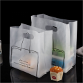 biodegradable plastic take out bag for restaurant