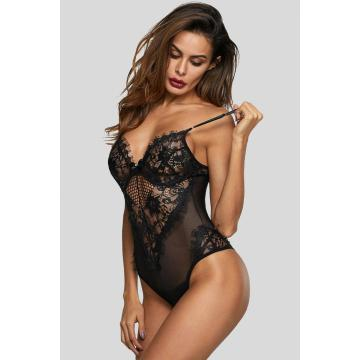 Hot one piece underwire lace bodysuit lingerie