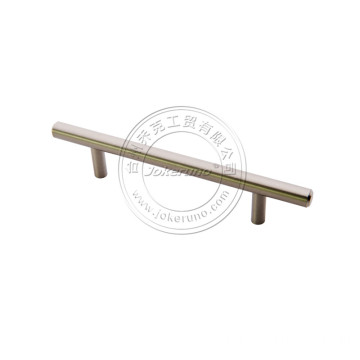 10mm brushed nickel  steel handle
