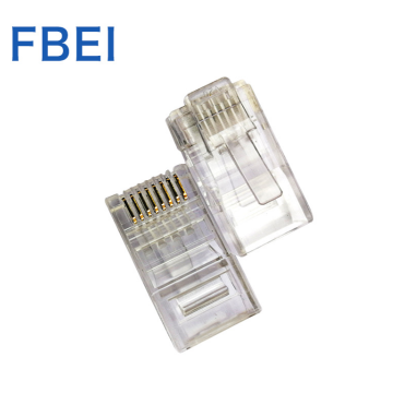 Cat6 RJ45 Ends Ethernet Cable Crimp Connectors