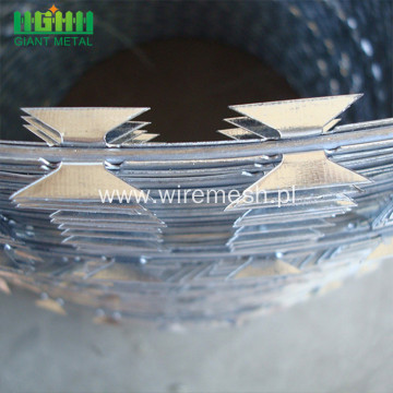 galvanized barbed wire  barbed razor mesh fencing