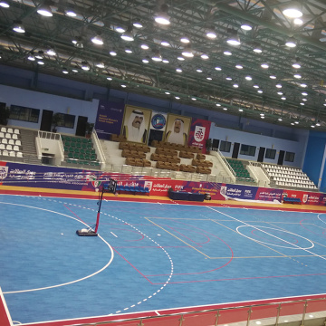 colorful pvc soccer sports indoor court floor