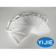 YIJIE KN95 face mask in white colour