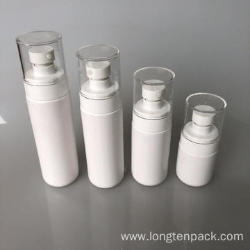 120ml PET bottle with lotion pump for cream