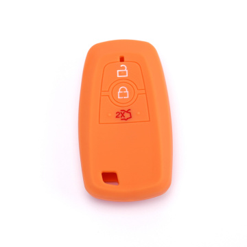 Silicone car key cover for ford ecosport