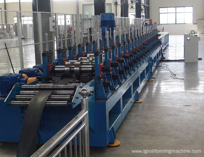 Metal Unistrut C Section Channel Roll Forming Machine