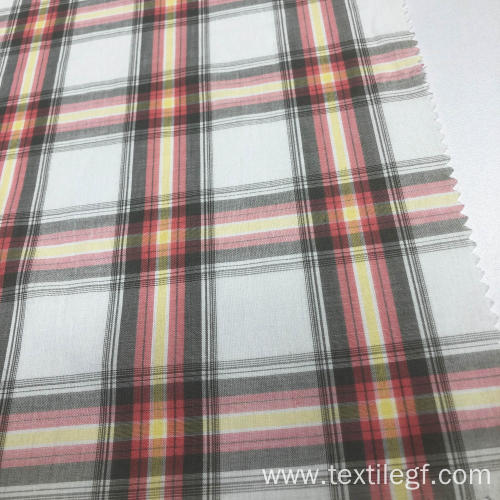 100%Cotton Yarn Dyed Fabric
