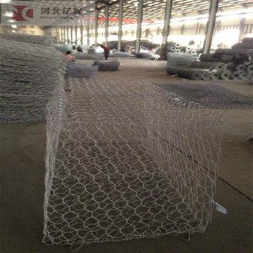 hot dipped galvanized iron wire gabion mesh fence