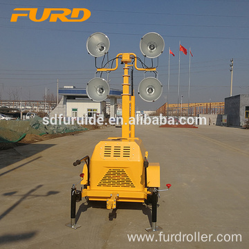 Good Price 7m Diesel Engine Trailer Light Tower For Sale Good Price 7m Diesel Engine Trailer Light Tower For Sale FZMTC-400B