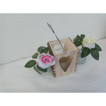 Natural Hanging Branch Wooden Candle Holder