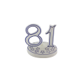 Birthday Number Candle Spiral Candle Blister Card Package