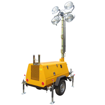 4x1000w 9m Mobile Light Tower/Trailer Light Tower