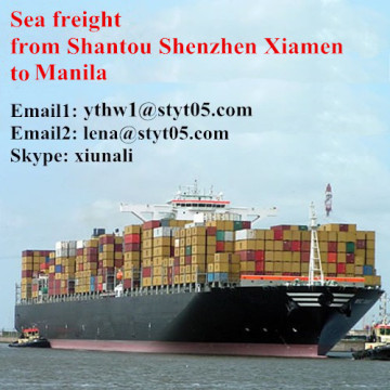 Shantou to Manila Sea Freight Shipping Timetable