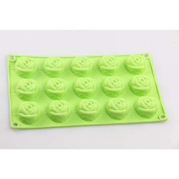 Rose Flower shaped baking mold