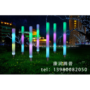 PE Sensor Luminous Pillar Park Light