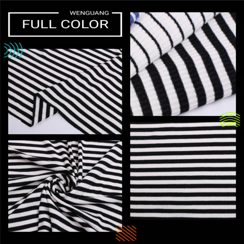 knitted rib fabric for sale 2