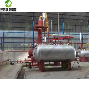 Atmospheric Used Motor Oil Distillation Unit Tower